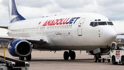 TC-SBZ - AnadoluJet Boeing 737-800