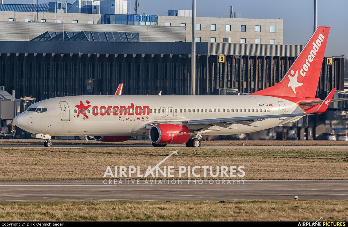 Corendon Airlines TC-TJT aircraft at Hannover - Langenhagen