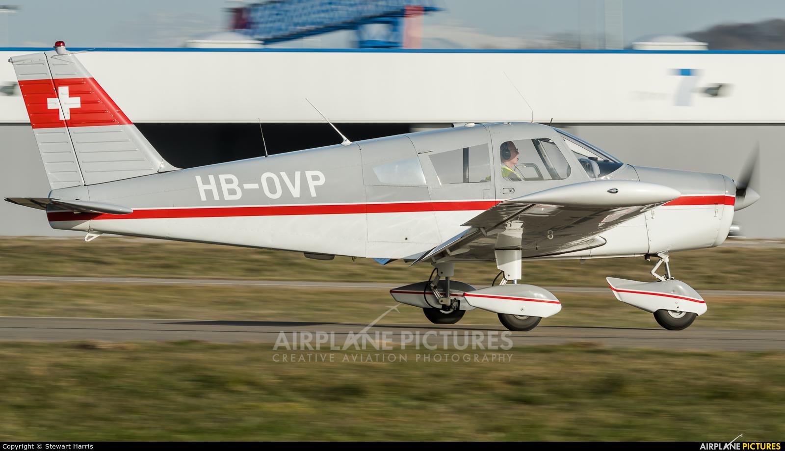 Private HB-OVP aircraft at Lausanne - La Blécherette