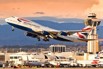 G-CIVH - British Airways Boeing 747-400