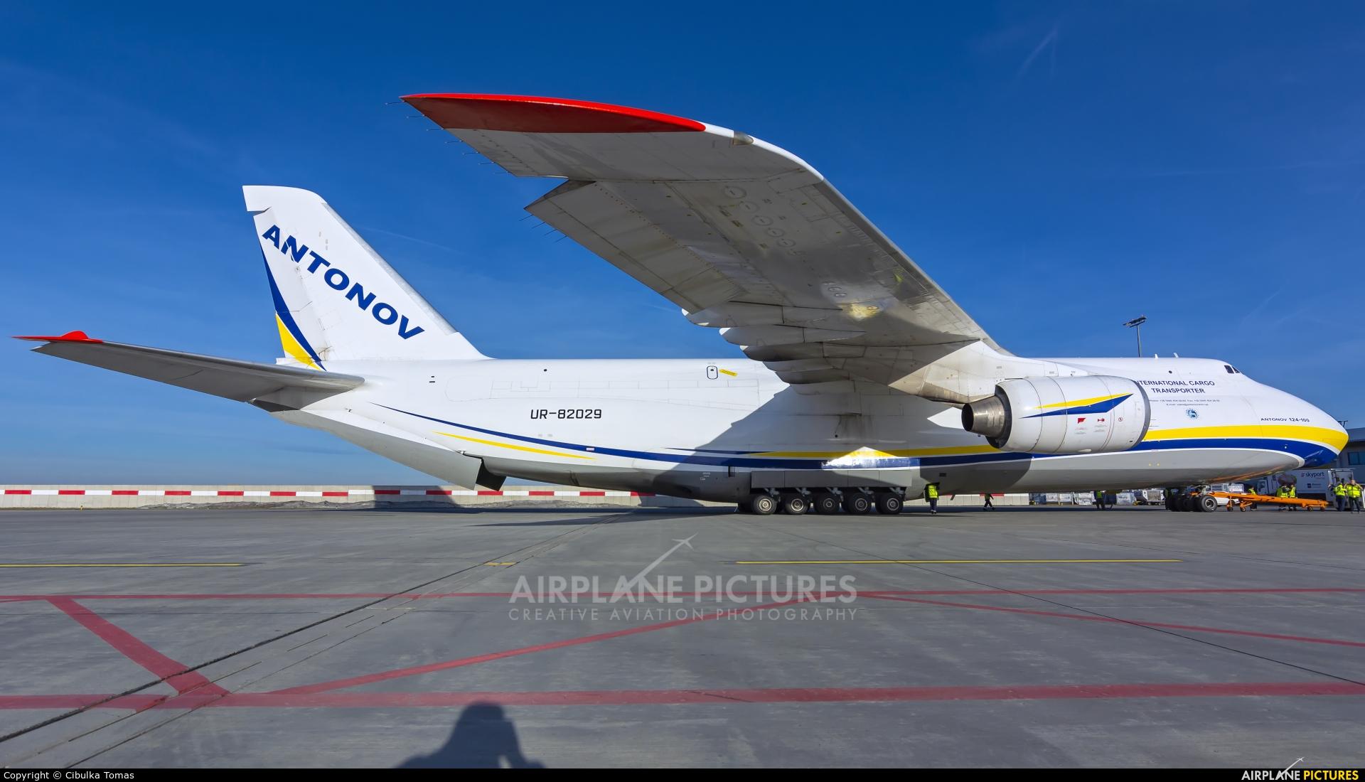 Antonov Airlines /  Design Bureau UR-82029 aircraft at Prague - Václav Havel