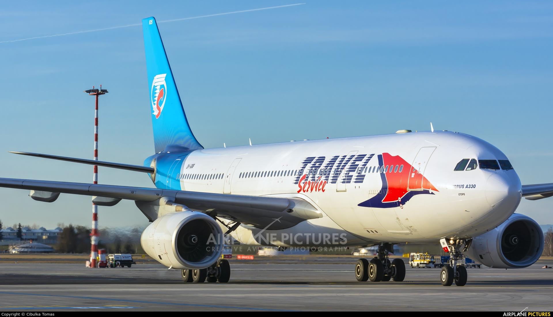 Travel Service OK-GBB aircraft at Prague - Václav Havel