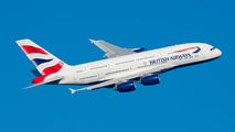 G-XLEF - British Airways Airbus A380 aircraft