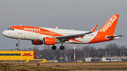 HB-JXK - easyJet Switzerland Airbus A320