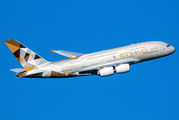 A6-APH - Etihad Airways Airbus A380 aircraft