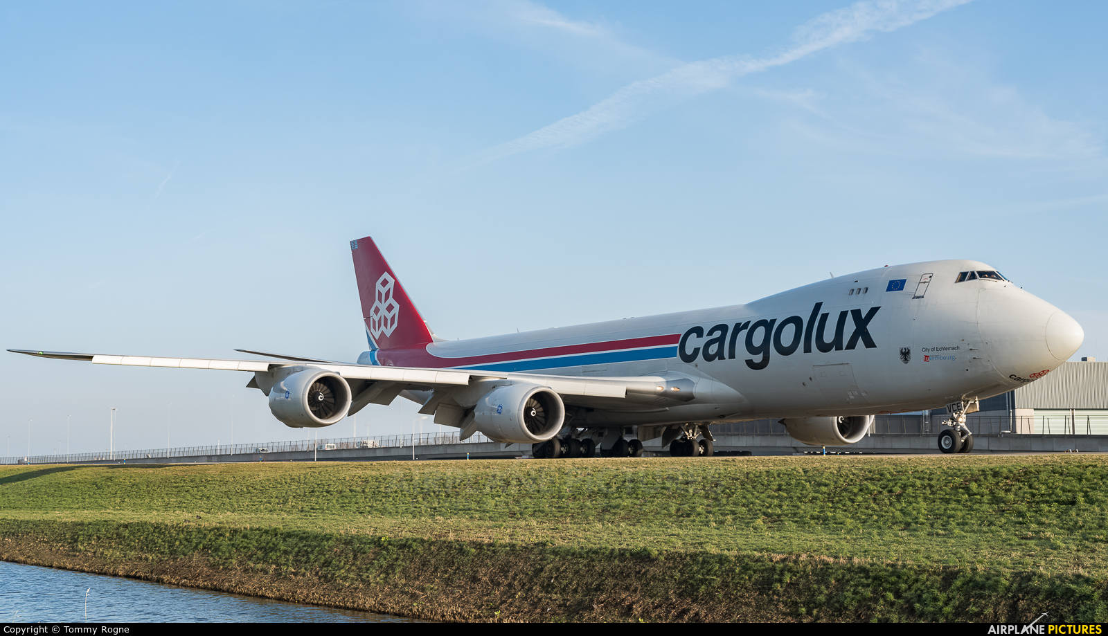 Cargolux LX-VCE aircraft at Amsterdam - Schiphol