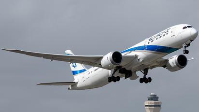 4X-EDB - El Al Israel Airlines Boeing 787-9 Dreamliner