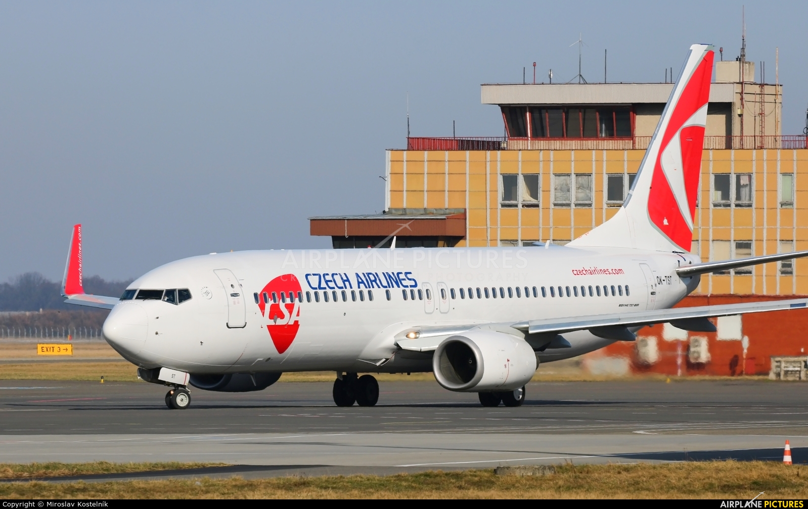 SmartWings OK-TST aircraft at Ostrava Mošnov