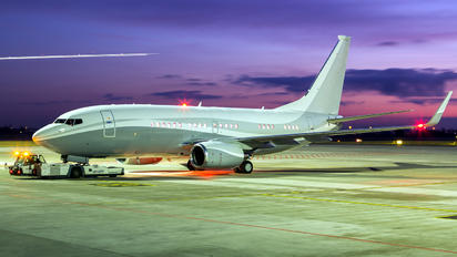 N834BZ - Private Boeing 737-700 BBJ
