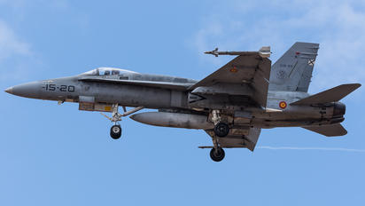 C.15-33 - Spain - Air Force McDonnell Douglas EF-18A Hornet