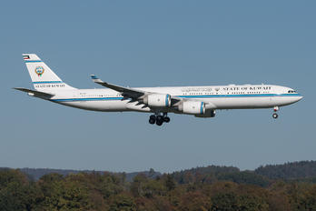 9K-GBA - Kuwait - Government Airbus A340-500