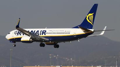 EI-EVY - Ryanair Boeing 737-800