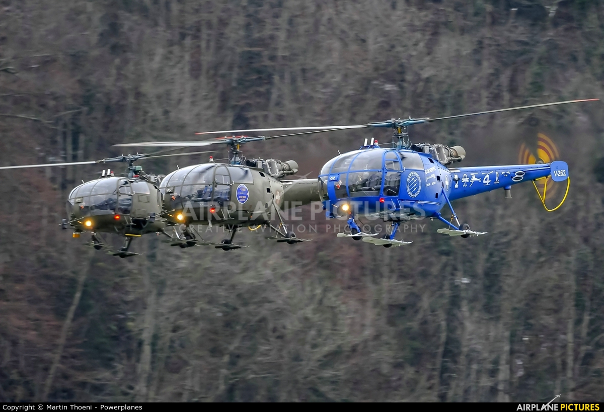 Switzerland - Air Force V-262 aircraft at Alpnach