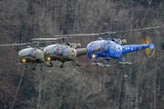 V-262 - Switzerland - Air Force Sud Aviation SA-316 Alouette III aircraft