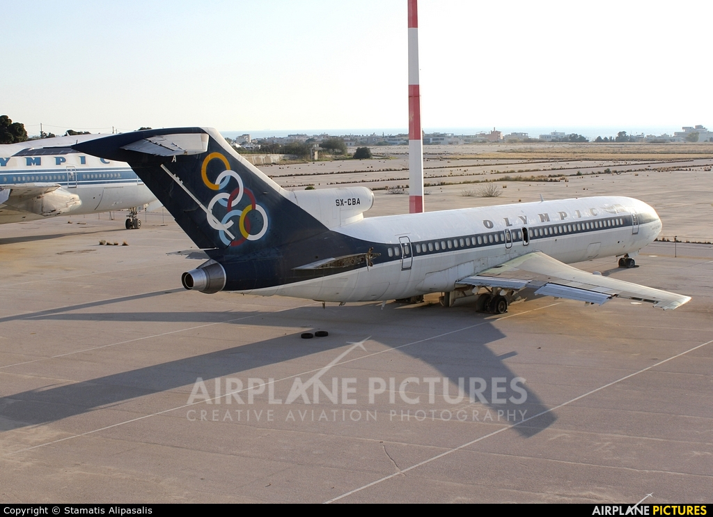 Olympic Airlines SX-CBA aircraft at Athens - Hellinikon