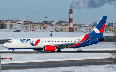 VQ-BMW - AzurAir Boeing 737-800