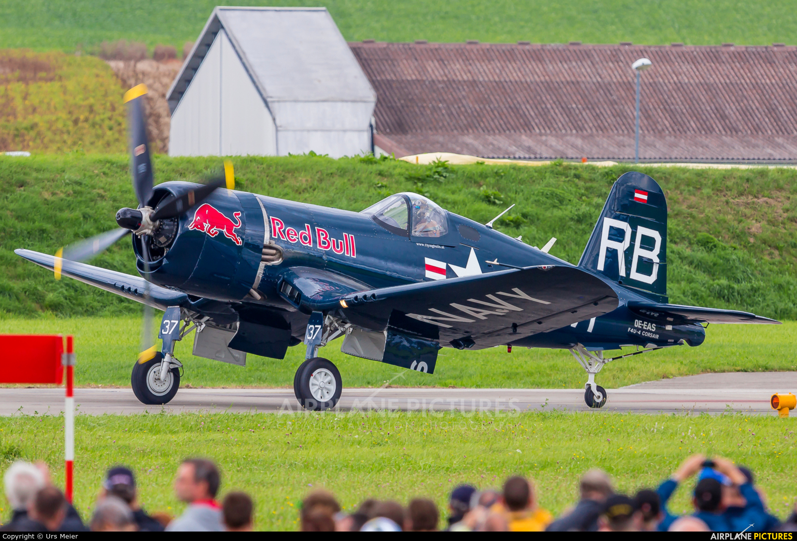 Red Bull OE-EAS aircraft at Payerne
