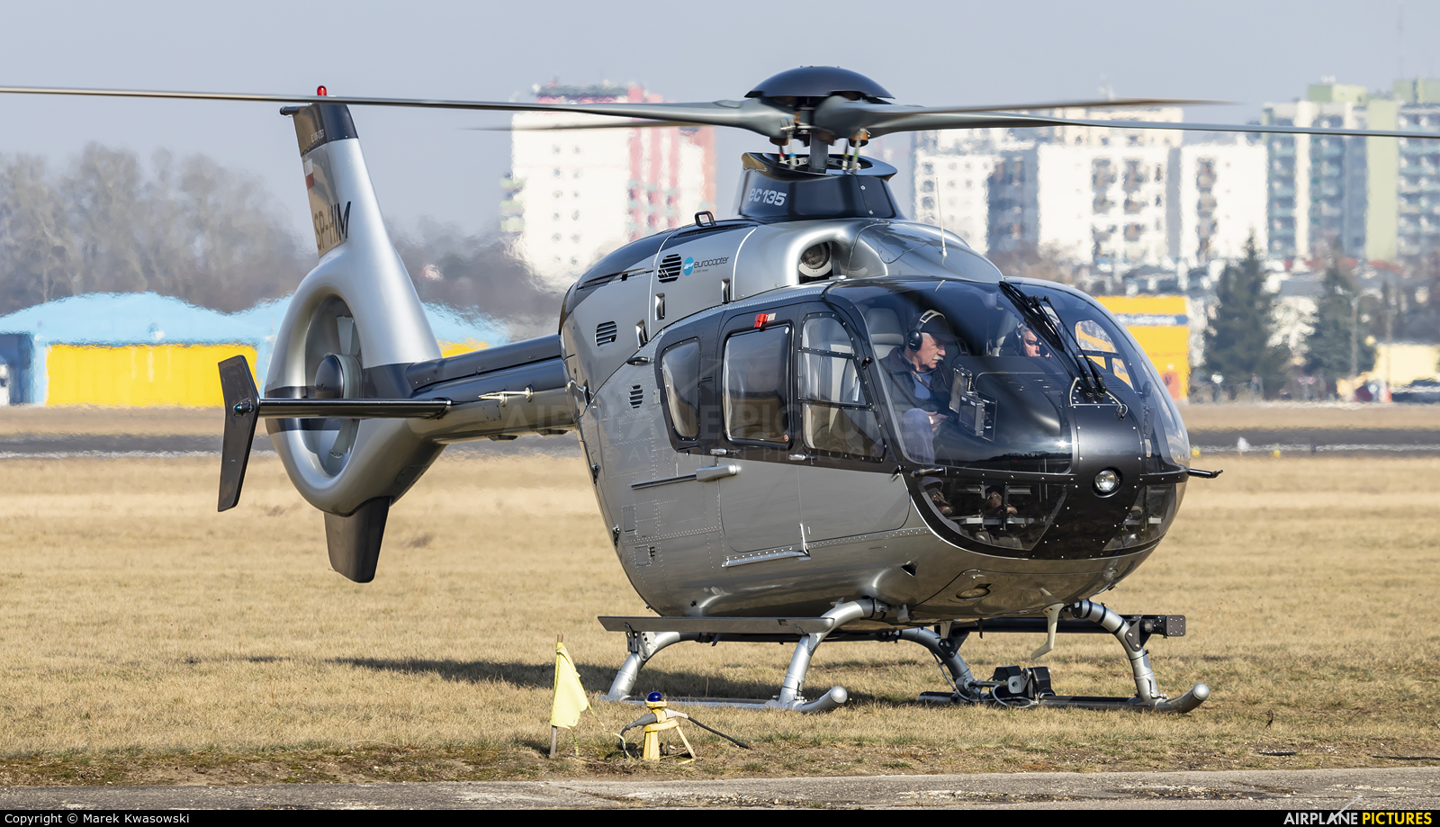 Private SP-HIM aircraft at Warsaw - Babice