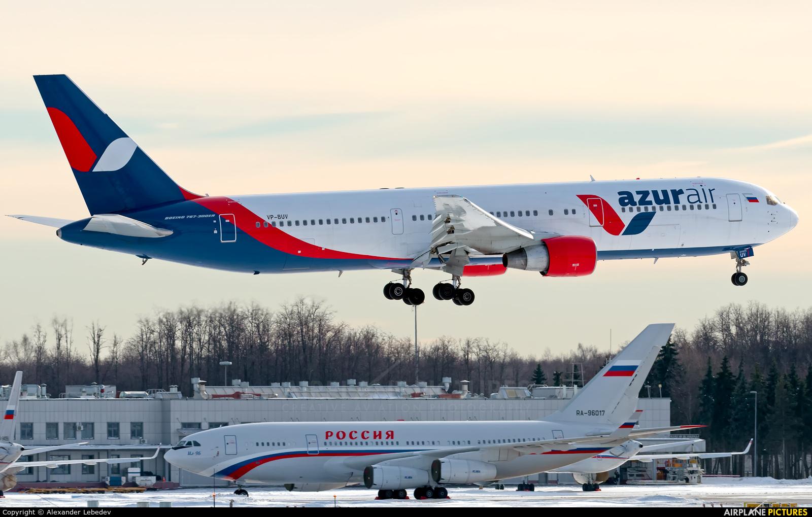 AzurAir VP-BUV aircraft at Moscow - Vnukovo
