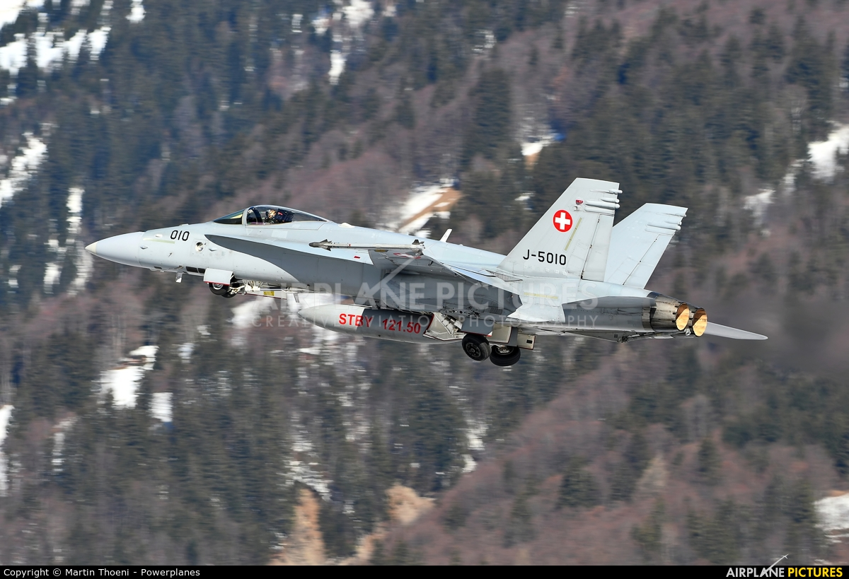 Switzerland - Air Force J-5010 aircraft at Meiringen