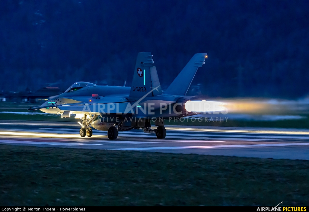 Switzerland - Air Force J-5023 aircraft at Meiringen