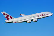 A7-APH - Qatar Airways Airbus A380 aircraft