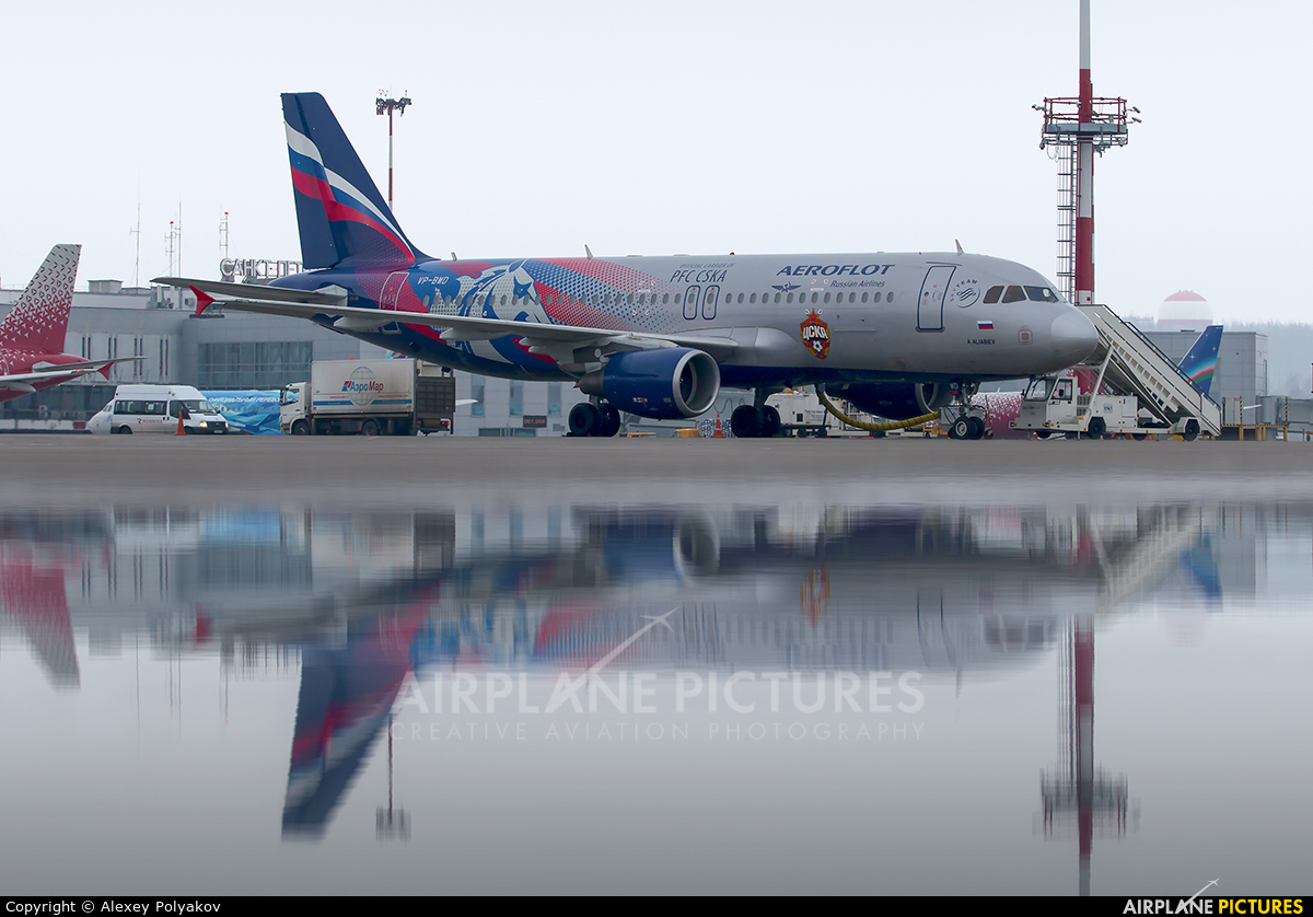 Aeroflot VP-BWD aircraft at St. Petersburg - Pulkovo