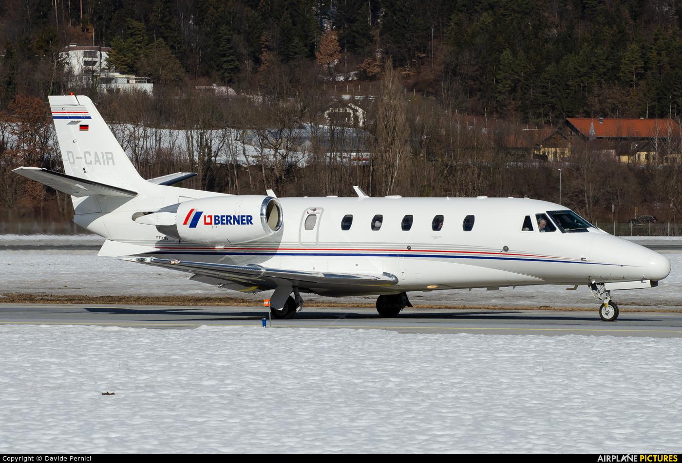Private D-CAIR aircraft at Innsbruck