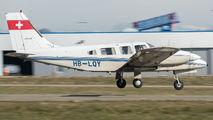 HB-LQY - Private Piper PA-34 Seneca aircraft