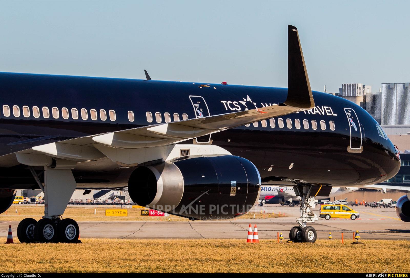 TCS World Travel G-TCSX aircraft at Zurich