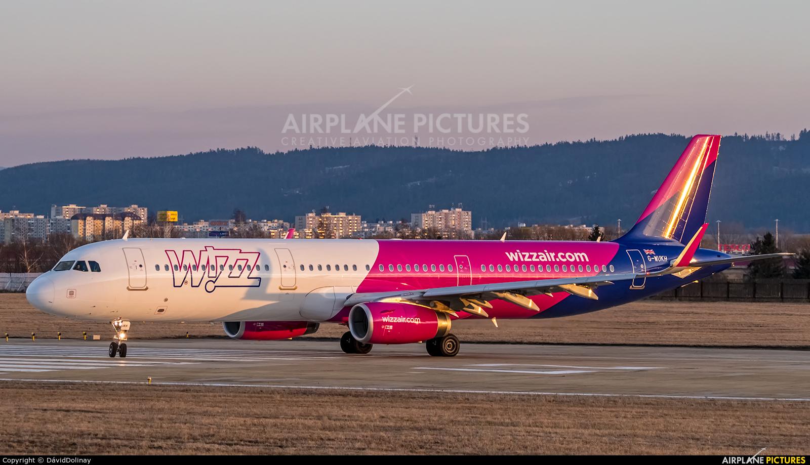 Wizz Air UK G-WUKH aircraft at Poprad - Tatry