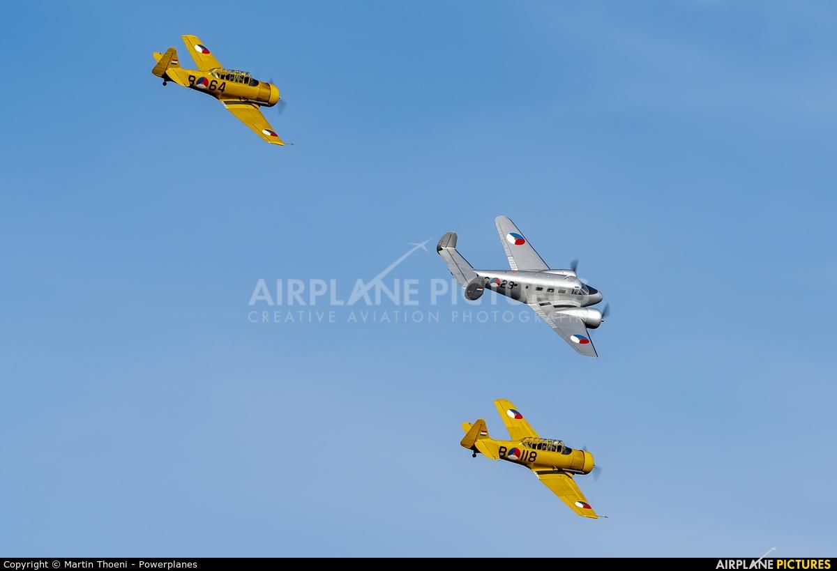 Private PH-KHV aircraft at Kleine Brogel