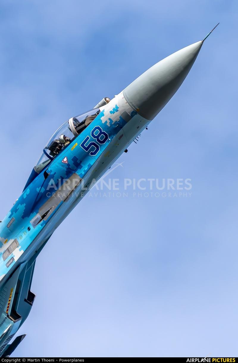 Ukraine - Air Force 58 aircraft at Kleine Brogel