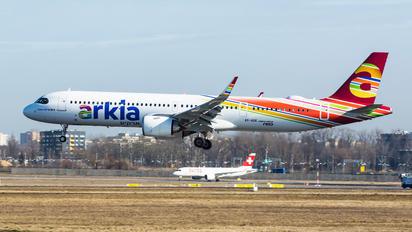 4X-AGK - Arkia Airbus A321 NEO