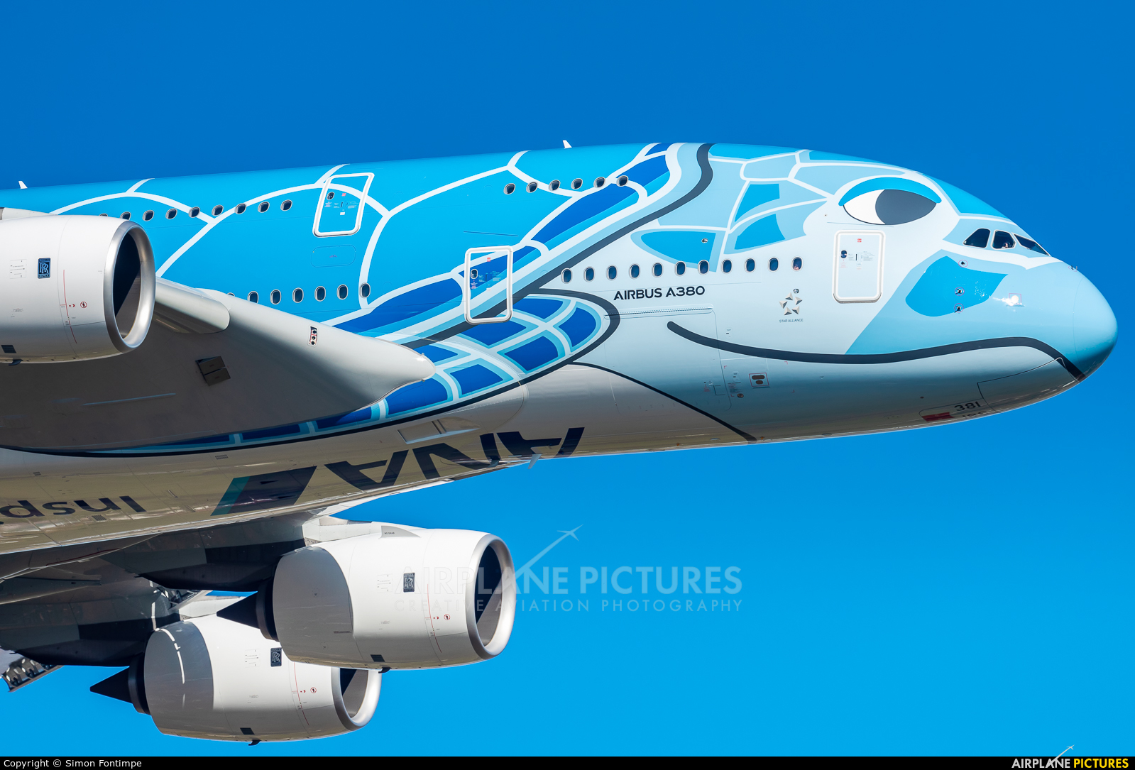 ANA - All Nippon Airways JA381A aircraft at Toulouse - Blagnac