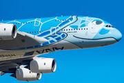 JA381A - ANA - All Nippon Airways Airbus A380 aircraft