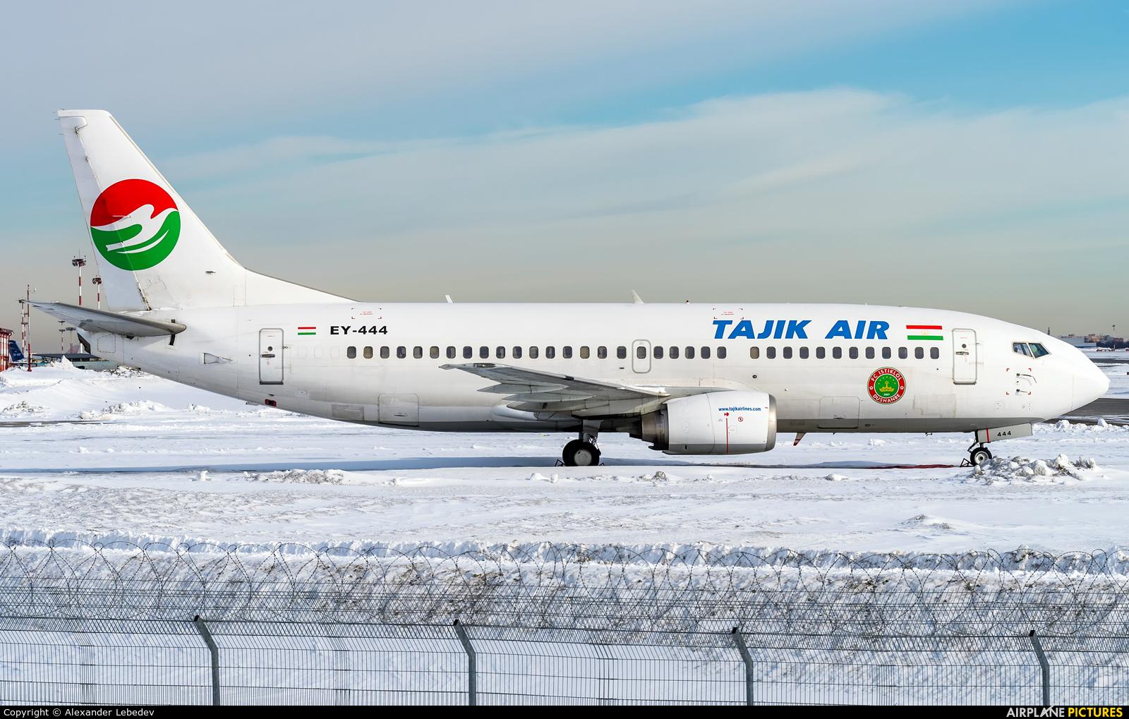 Tajik Air EY-444 aircraft at Moscow - Vnukovo