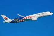 9M-MAG - Malaysia Airlines Airbus A350-900 aircraft