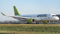 YL-CSH - Air Baltic Bombardier CS300 aircraft