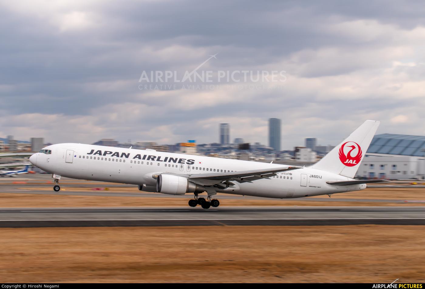 JAL - Japan Airlines JA601J aircraft at Osaka - Itami Intl