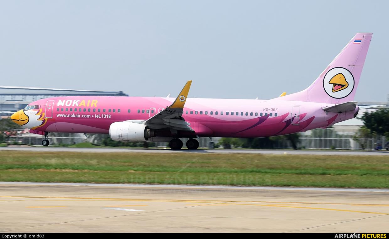 Nok Air HS-DBE aircraft at Bangkok - Don Muang