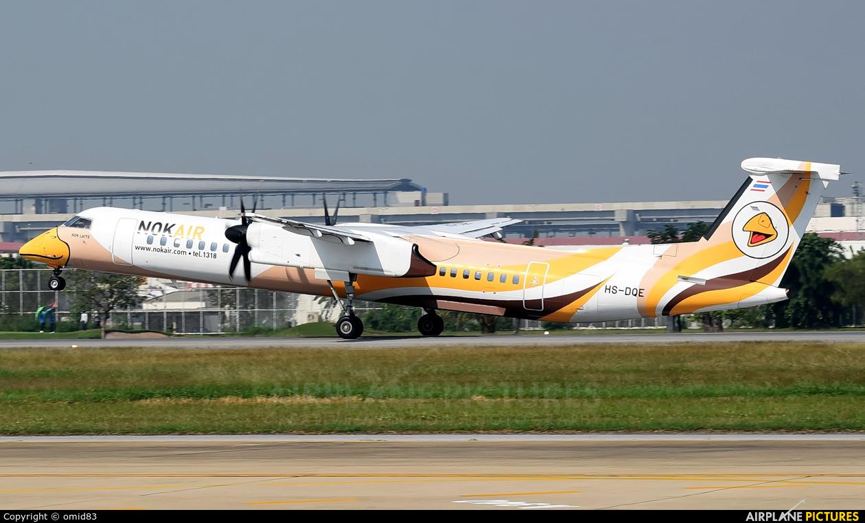 Nok Air HS-DQE aircraft at Bangkok - Don Muang