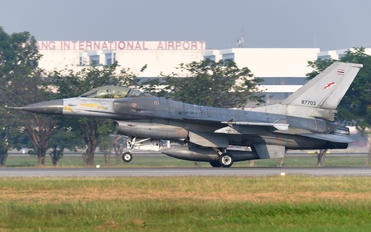 KH19-7/31 - Thailand - Air Force General Dynamics F-16A Fighting Falcon