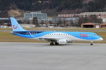 OO-JVA - TUI Airlines Belgium Embraer ERJ-190 (190-100)