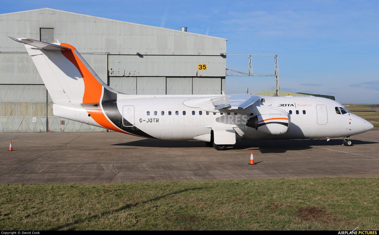 Jota Aviation G-JOTR aircraft at East Midlands