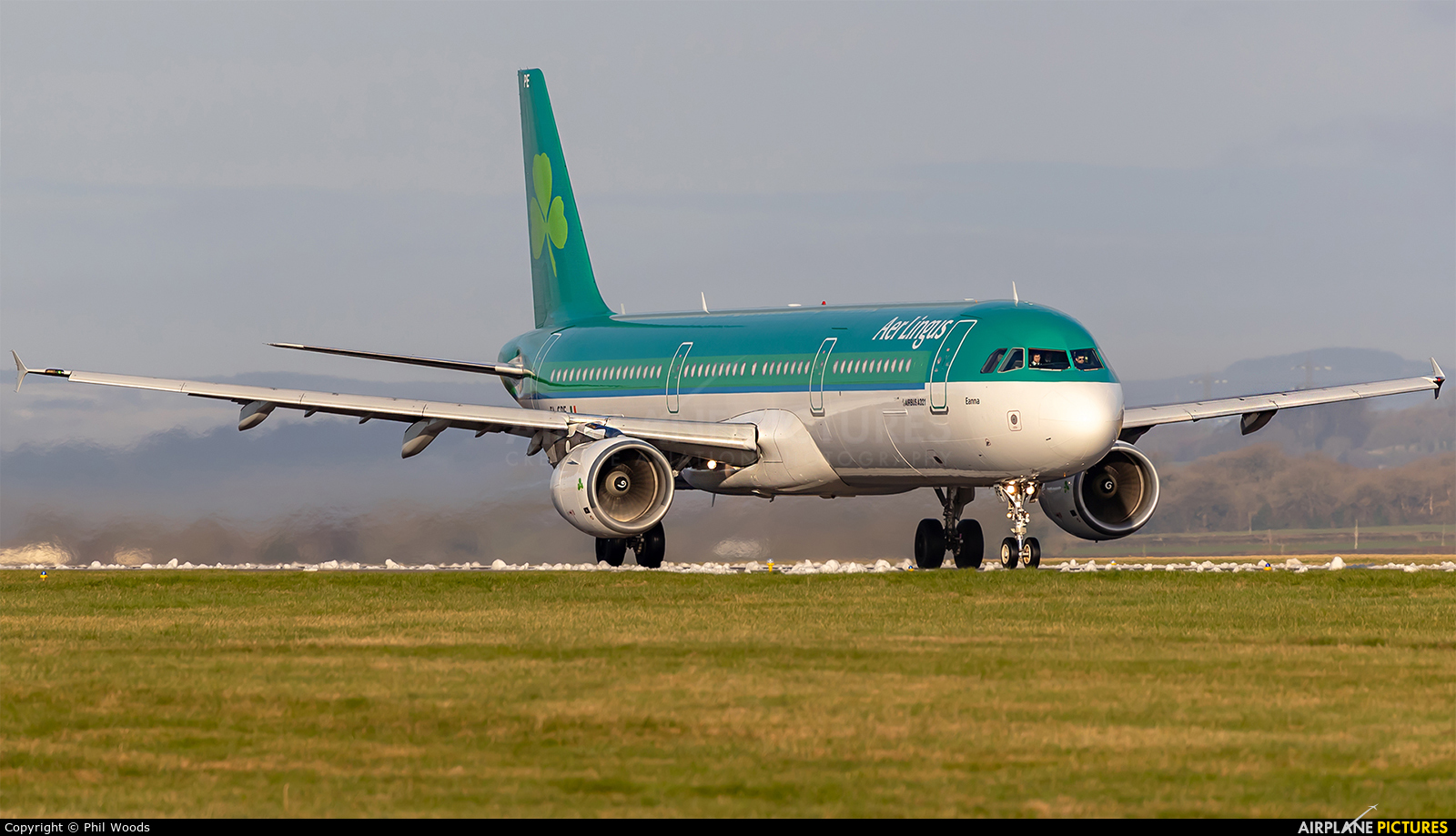 Aer Lingus EI-CPE aircraft at Cardiff