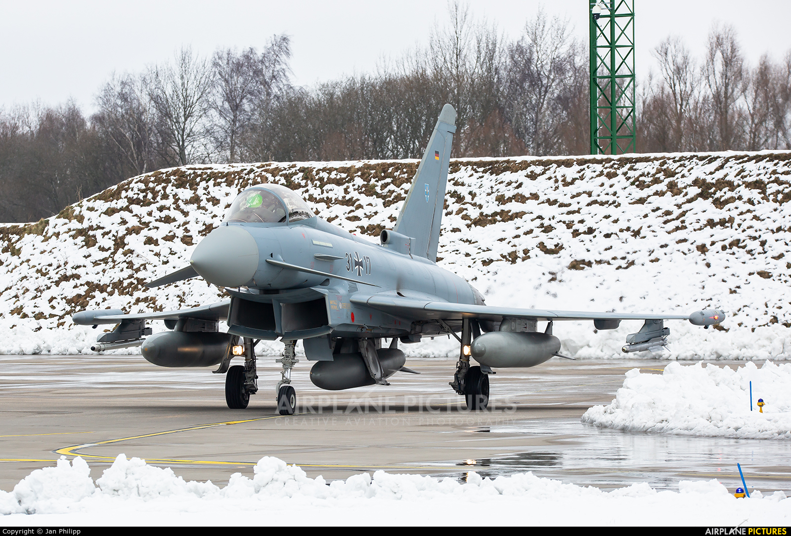 Germany - Air Force 31+17 aircraft at Rostock - Laage