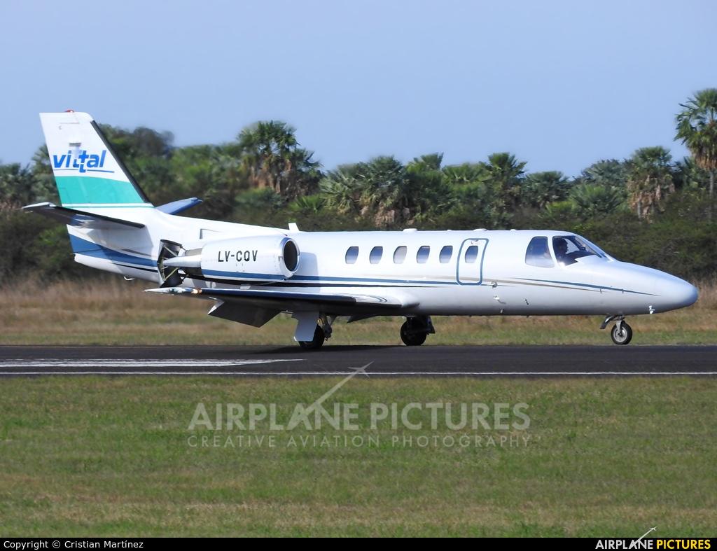 Private LV-CQV aircraft at Formosa Intl
