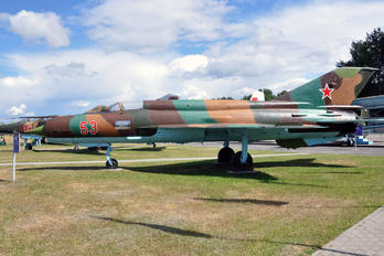 53 - Soviet Union - Air Force Mikoyan-Gurevich MiG-21SMT