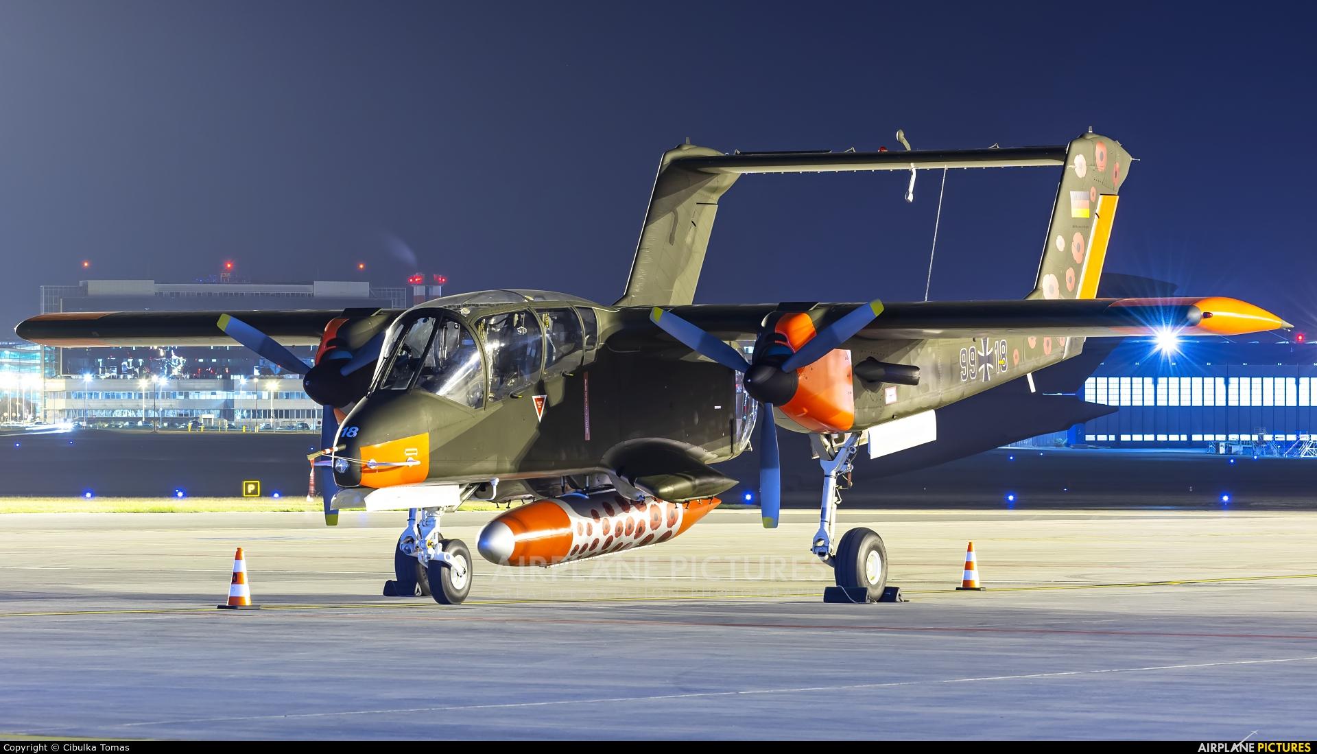 Bronco Demo Team G-ONAA aircraft at Prague - Václav Havel